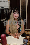 Madame Gina Reading Tarot  Fortunes at Women's Project