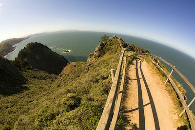 These next photos were taken at the Muir Beach overlook, just north of the Golden Gate on Highway 1.