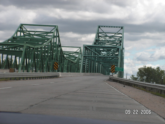 Bridge into Iowa?