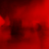 Red Kitten Abstract