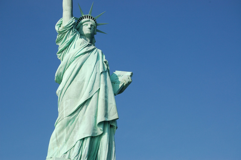 Statue of Liberty: Thirding