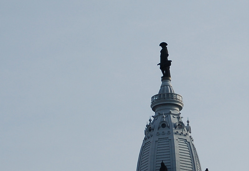 William Penn does not have an erection