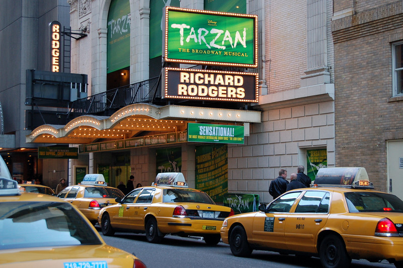 Broadway shows, yellow taxis