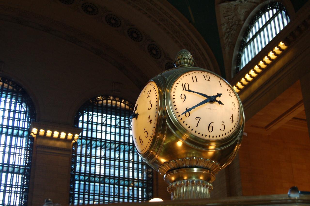 Clock at GCS