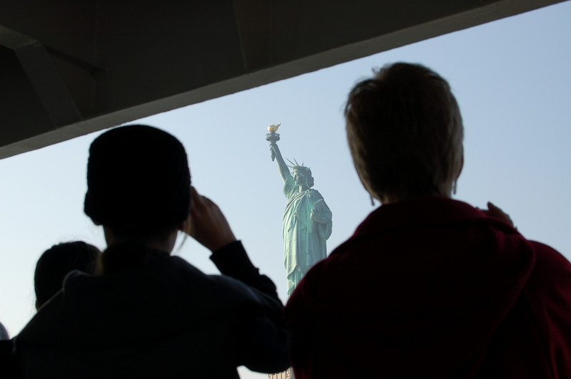 Statue of Liberty: Arriving