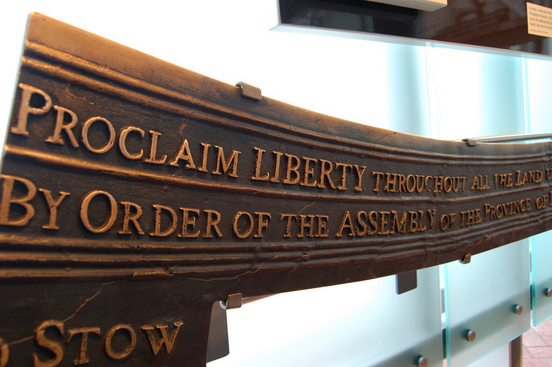 Proclaim Liberty throughout all the land!