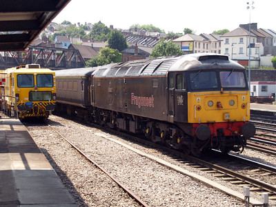47145 TnT 47355 at 1345 on a Serco towards Cardiff.