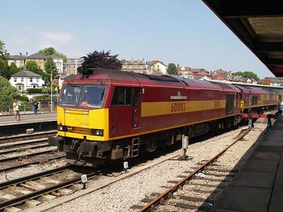 Double Headed 60003_66074 at 1340 heading to Margam.