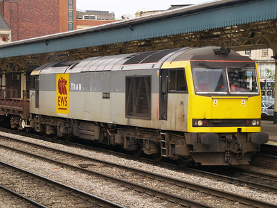 60082 at 1610 on an empty steel train West.