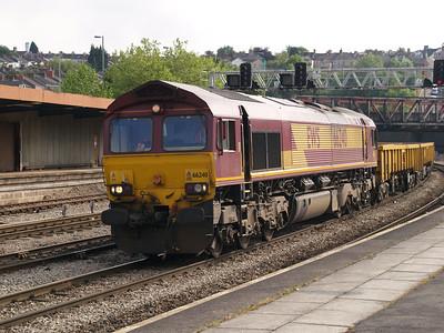 66240 at 1643 with the ADJ-Westbury return working.