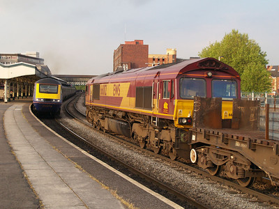 66012 at 1934 on a steel train East.