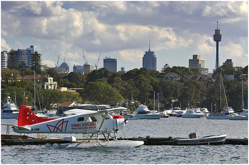 Rose Bay, Monday November 6th 2006. <br /> <br /> Seaplane base. <br /> <br /> <br /> EXIF DATA <br /> Canon 1D Mk II. EF 70-200 f/2.8L@170mm 1/250s f/7.1 ISO 250.