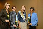 Deborah Norville, Donna J. Blank, Hannah Kristine Walter & Dr. Vishaka N. Desai