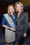 Deborah Norville & Hannah Kristine Walter, 2006 Future Woman of Distinction, Senior Girl Scout Troop #4235 Queens, New York