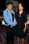 Dr. Vishakha N. Desai & Carmen Dubroc
