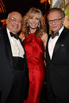 "Abraham (""Barry"")E. Cohen, Shawn King and Larry King at Cipriani for the American Friends of Rabin Medical Center Gala Dinner"