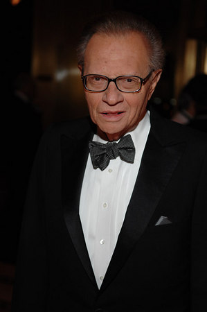 Larry King at Cipriani for the American Friends of Rabin Medical Center Gala Dinner