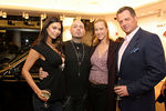 Adult Entertainment Superstar Tera Patrick, her rock star husband Evan Seinfeld, ? and ?