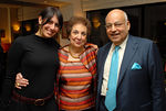 Judy Kaufman (Director of Foreign Relations, Rabin Medical Center) with Yvonne and Barry Cohen