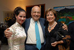 "Chosan (Chau-Giang Ngyuen), Barry Cohen & <a href=""http://www.grabow.biz/Speakers/NavaBarak.htm"">Nava Barak</a> at Cocktail Party at the Cohen residence to Celebrate American Friends of Rabin Medical Center (AFRMC) Gala"