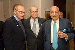 Larry King, Marty Zeiger (Larry King's brother) & Barry Cohen