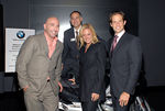 Tom Healy(President of Lower Manhattan Cultural Council), Steve Sergi (BMW of Manhattan), Di Petroff  and Michael Shvo