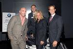 Tom Healy(President of Lower Manhattan Cultural Council), Steve Sergi (BMW of Manhattan), Di Petroff  and Michael Shvo