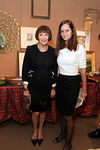 Sheila Camera Kotur & Eva Dillon at Sotheby's for Lenox Hill Neighborhood House 19th Annual Holiday Bazaar Preview Party