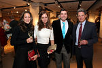 Ms. Kathy Angele, Ms. Eva Dillon, Mr. Brendan Dillon and Mr. Lorne Weil at Sotheby's for Lenox Hill Neighborhood House 19th Annual Holiday Bazaar Preview Party