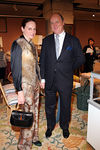 Alexandra Kotur & Mario Buatta at Sotheby's for Lenox Hill Neighborhood House 19th Annual Holiday Bazaar Preview Party
