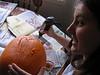 Jen joining the pumpkin fun!