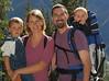 Us hiking in Chamonix, Mt. Blanc, France