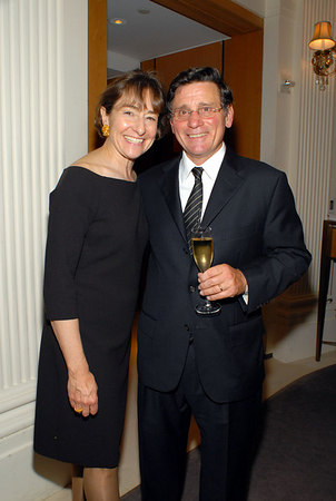 Nancy C. Paduano & Daniel P. Paduano at Cartier for a Cocktail Party to Celebrate the Central Park Conservancy's Halloween Ball