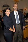 Maria Crawley Bayazid of Cartier with Doug Blonsky of the Central Park Conservancy