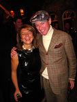 Designer Anait Bian with Montgomery Frazier