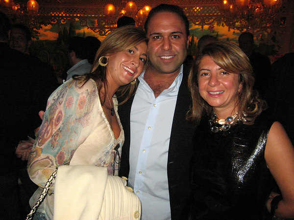 John Mahdessian with his lady and Anait Bian