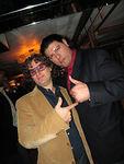 """<a href=""""http://www.manhattan.smugmug.com/gallery/1405379/1"""">A.S. Parker</a>  & George"""