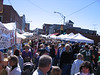 TONS of people at the Autumn leaves festival in Mt. Airy.