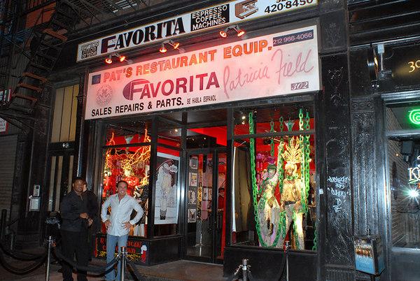 Patricia Field at 302 Bowery, below Houston Street