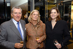 Hon. John F. Lehman, Chairman of PGF, Mrs. Lehman and Toby E. Boshak, Executive Director of PGF