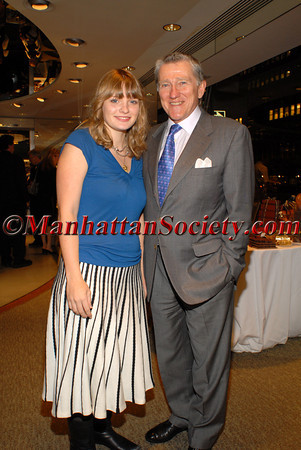 Hon. John F. Lehman, Chairman of PGF with daughter Grace Lehman