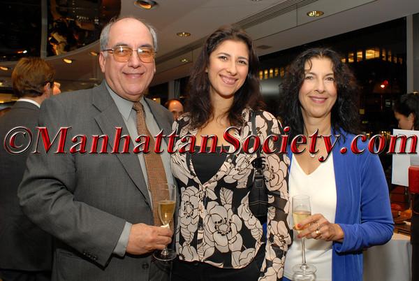 Eduardo Garcia (PGFUSA Trustee) with family members, daughter Xan Garcia & wife, Nina Garcia