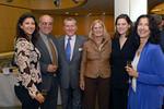 Xan Garcia, Eduardo Garcia, Hon. John F. Lehman (Chairman of PGF), Barbara Lehman, Toby E. Boshak (Executive Director of PGF) & Nina Garcia