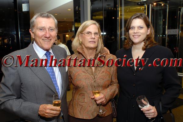 Hon. John F. Lehman, Chairman of PGF, Barbara Lehman  and Toby E. Boshak, Executive Director of PGF