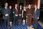Dan Negrea, Nella and Dominic Habsburg, Nikki Negrea, Jeannie Trouveroy, Cardinal Sean O'Malley, Olivier Trouveroy