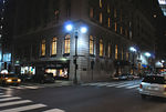 Vanderbilt Avenue: view of the Yale Club from acrosss the street