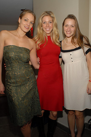 Katharina Harf, Jane Griffin & Lara Meiland at COMIX for The Benefit for DKMS Americas – Where Leukemia Meets Its Match