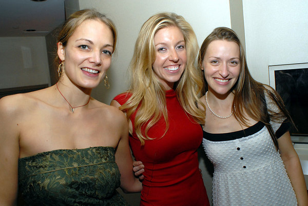 Katharina Harf, Jane Griffin and Lara Meiland