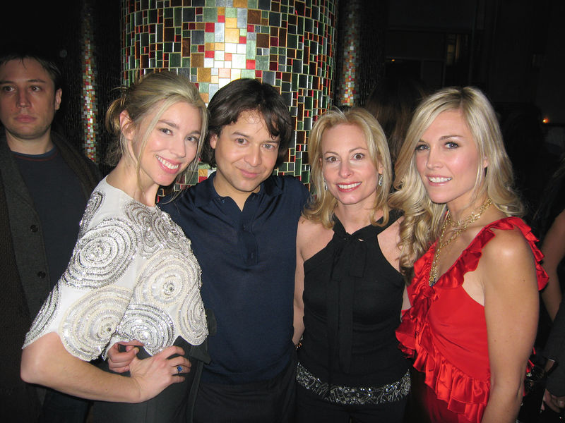 Alex Lind Rose, Designer Alvin Valley, Gillian Miniter & Tinsley Mortimer