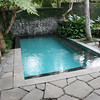 Our private pool, refreshingly cold